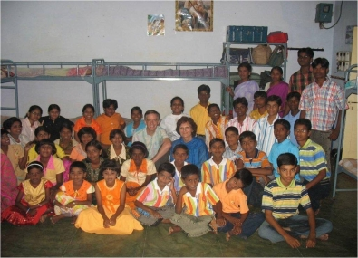 Supporting the Interfaith Orphanage in 2009