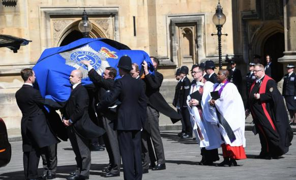 PC Palmer Funeral