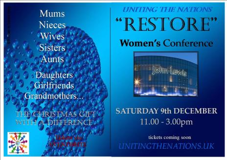 RESTORE Women's Conference - Ad 1