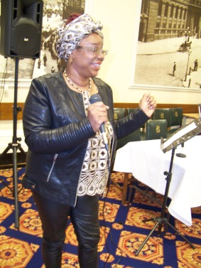 Audreia speaking on Forgiveness