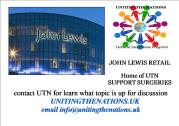 John Lewis - UTN Support Surgeries